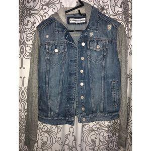 Express Denim/Sweatshirt jacket